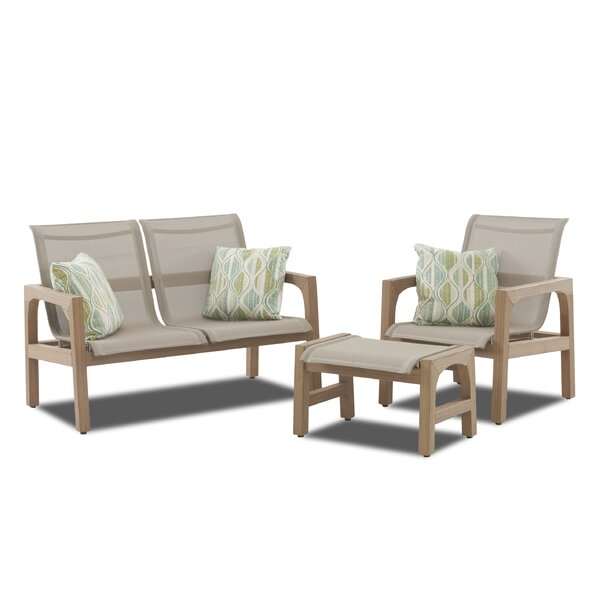 Lawson 3 Piece Seating Group by Union Rustic