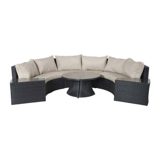 Gadson 11 Piece Rattan Sofa Seating Group with Cushions by Latitude Run Latitude Run