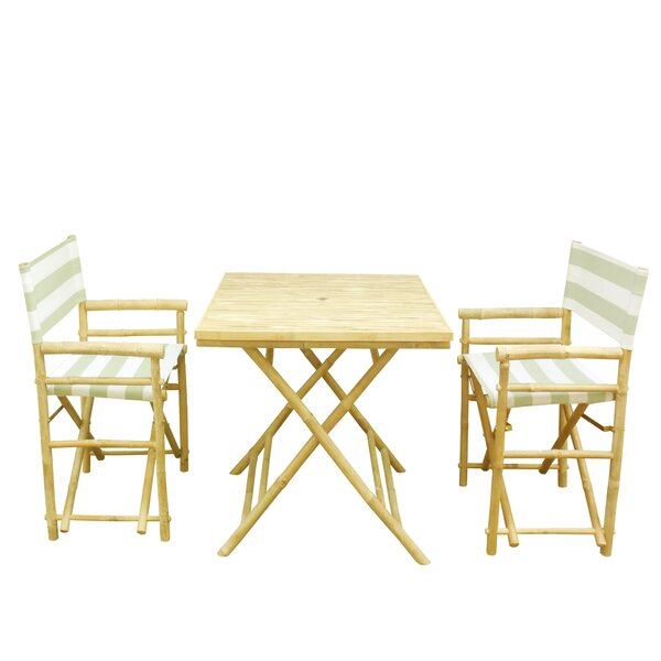 3 Piece Bistro Set by ZEW Inc