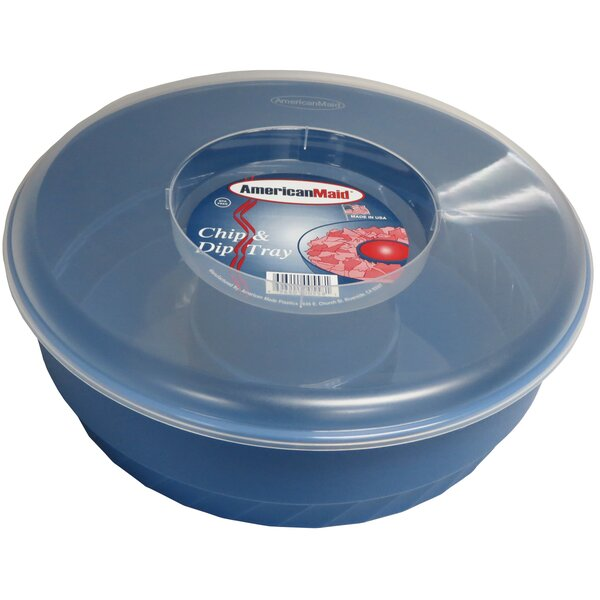 2 Piece Chip & Dip Tray Set by American Maid Plastic