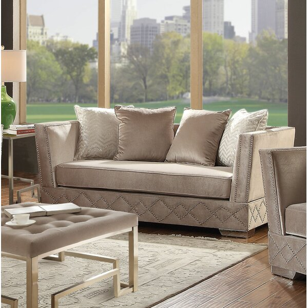 Stanford Loveseat By Everly Quinn