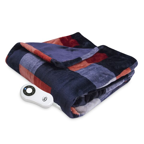 Tuan Silky Plush Printed Throw by Red Barrel Studio