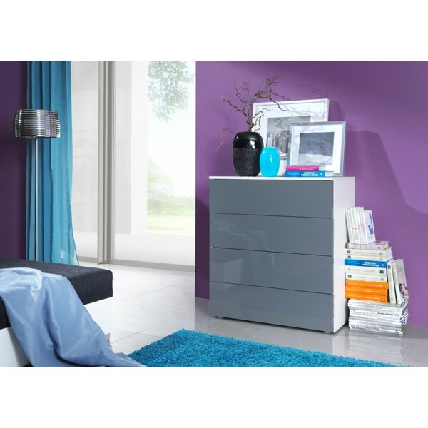 Jahn Commode 4 Drawer Dresser by Orren Ellis