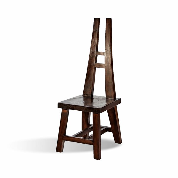 Oasis Solid Wood Dining Chair by Ibolili