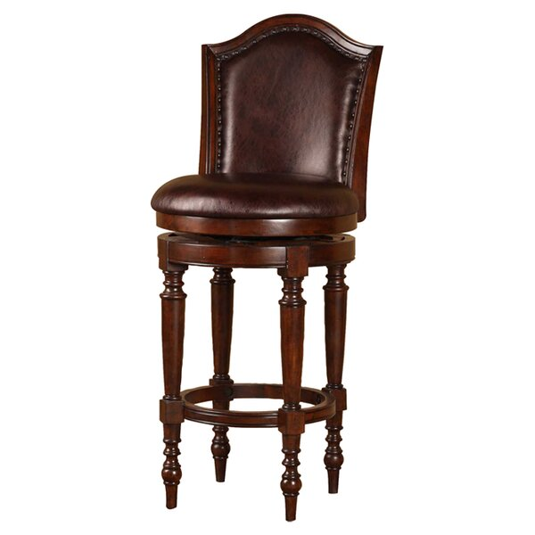 Milliner 26 Swivel Counter Stool by Astoria Grand
