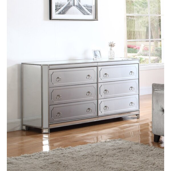 Robison 6 Drawer Standard Dresser/Chest by Rosdorf Park