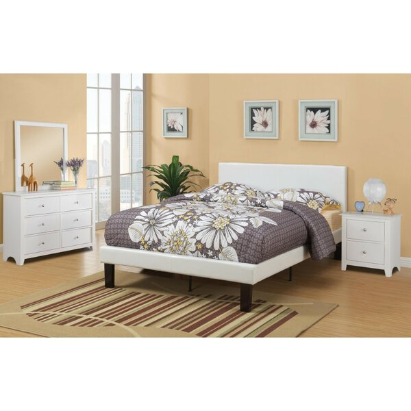 Garces Twin Upholstered Standard Bed by Ebern Designs