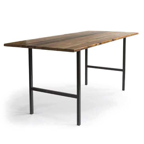 Braddock Solid Wood Dining Table by Millwood Pines Millwood Pines