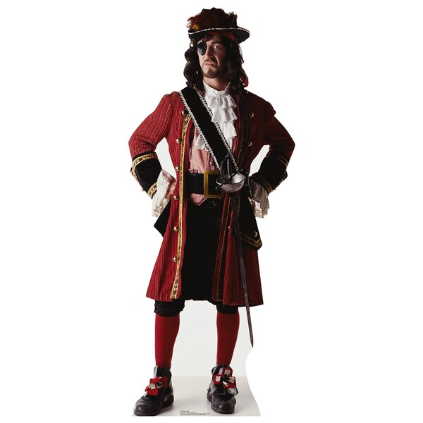 One Eyed Pirate Cardboard Cutout Stand-Up by Advanced Graphics