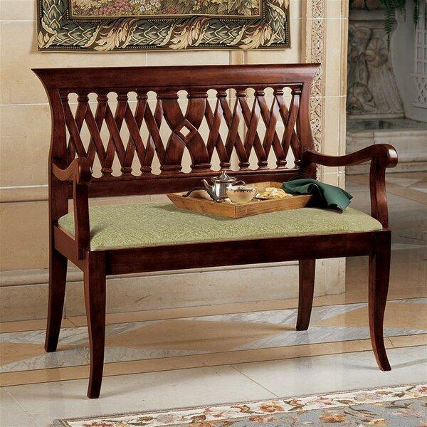 Mahogany Bench by Design Toscano