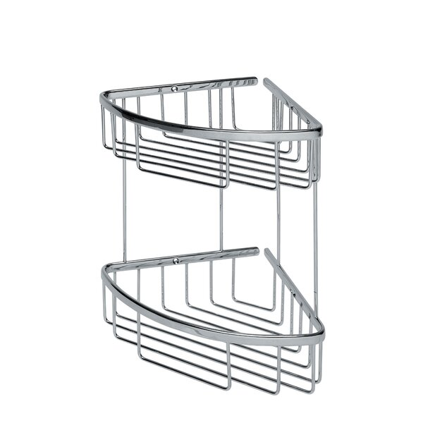 Filo Double Shower Caddy by WS Bath Collections