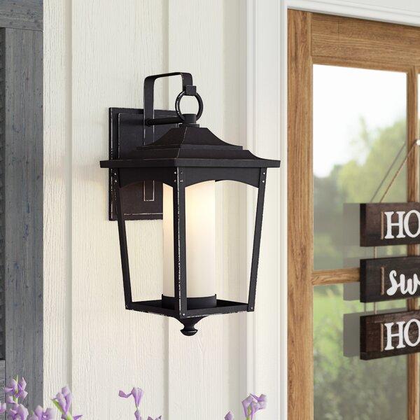 Mason Metal Outdoor Wall Lantern by Laurel Foundry Modern Farmhouse