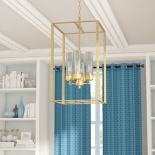 Compare & Buy Depaz 4-Light Square/Rectangle Chandelier By Mercury Row