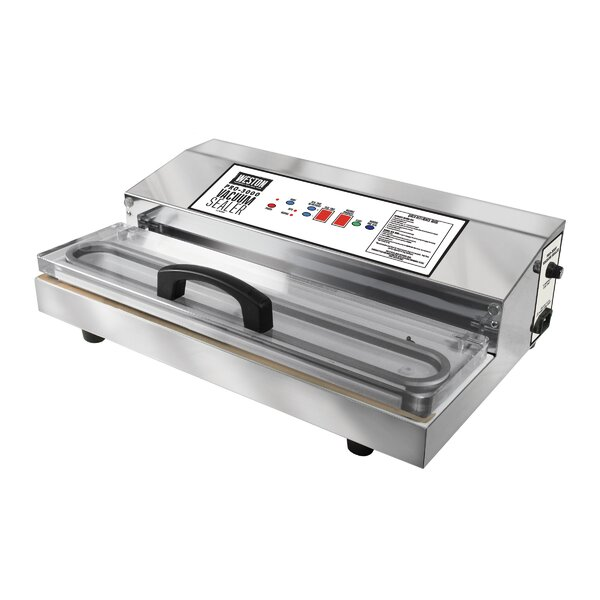 Pro-3000 Stainless Steel Vacuum Sealer by Weston