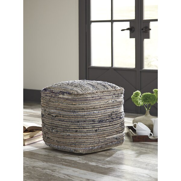 Strasburg Pouf by Beachcrest Home