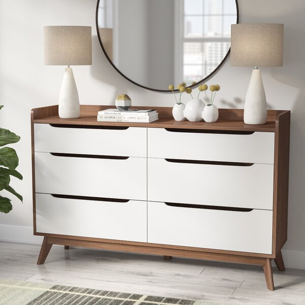 Oxon Hill 6 Drawer Double Dresser by George Oliver
