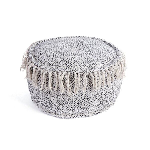 Eminence Round Tufted Pouf by World Menagerie