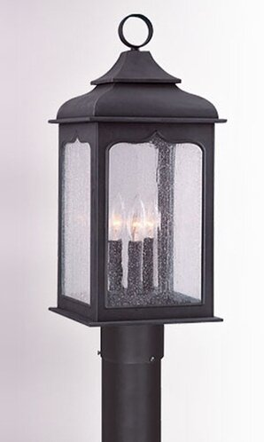 Theodore 3-Light 60W Metal Lantern Head by Darby Home Co