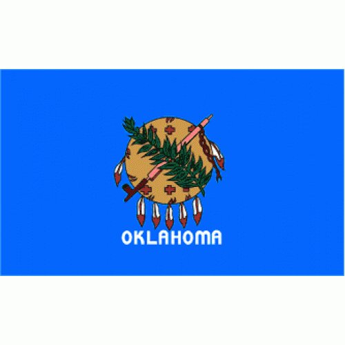 Oklahoma Traditional Flag by NeoPlex