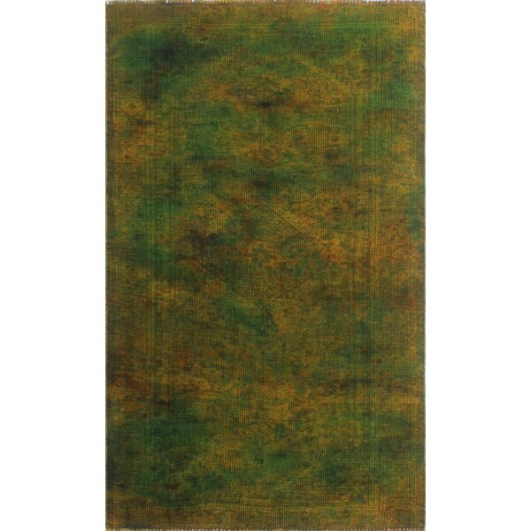 One-Of-A-Kind Velda Hand-Knotted Wool Done Area Rug by Isabelline