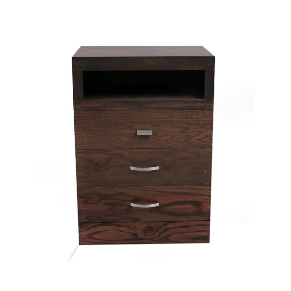 Munich 3 Drawer Dresser by REZ Furniture