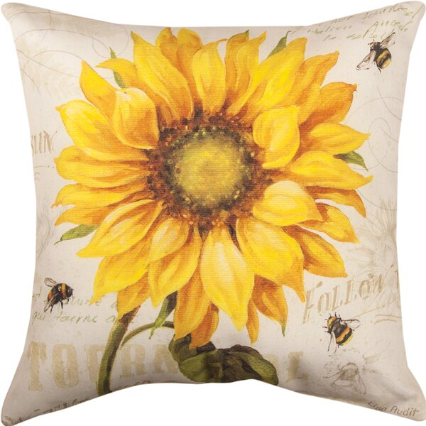 Under the Sun Throw Pillow by Manual Woodworkers & Weavers