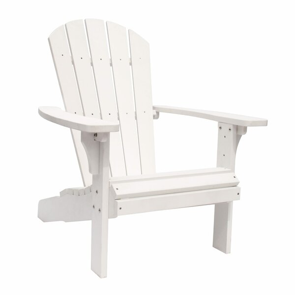 Royal Palm Plastic Adirondack Chair by Shine Company Inc.