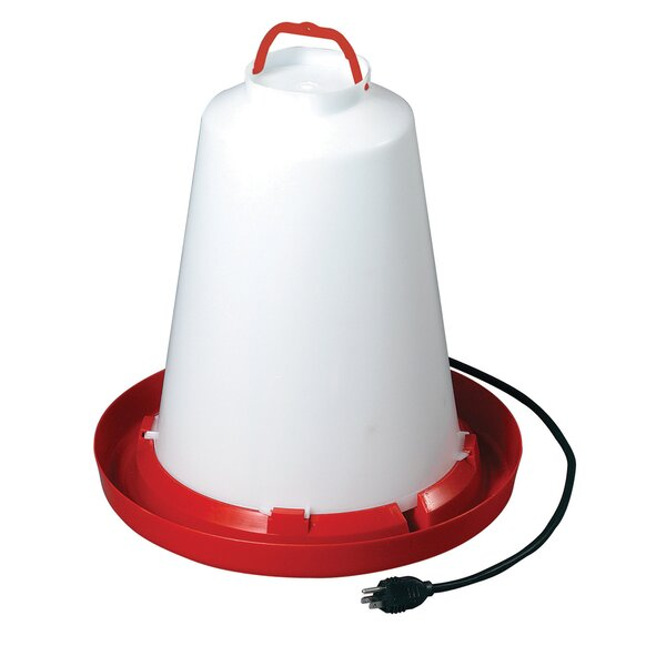 Heated Chicken Waterer by Allied Precision Industries