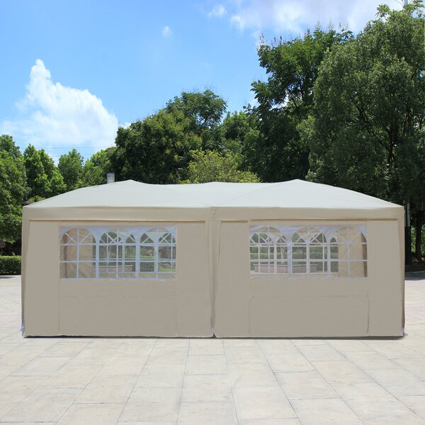 20 Ft. W x 10 Ft. D Steel Party Tent by Baner Gard