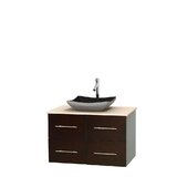 Centra 36 Wall-Mounted Single Bathroom Vanity Set byWyndham Collection