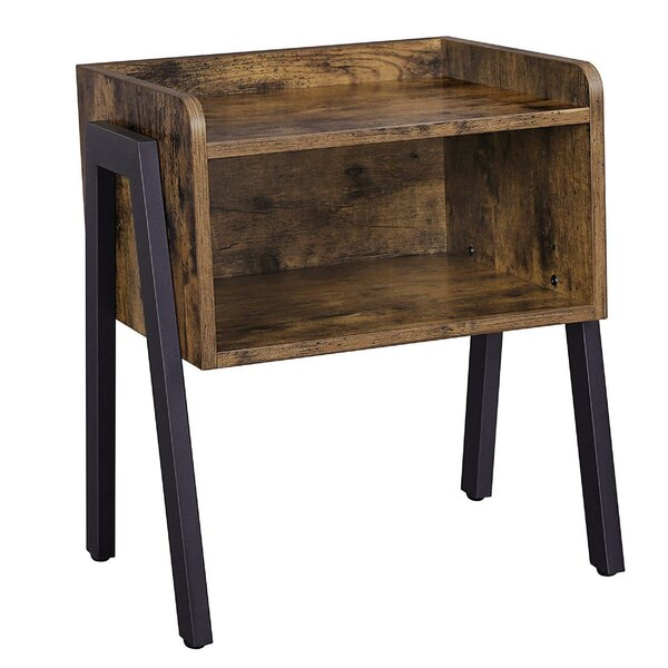 Lambert Wooden Stackable End Table by Williston Forge