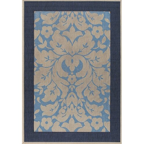 Becking Light Blue/Ivory Indoor/Outdoor Area Rug by Darby Home Co