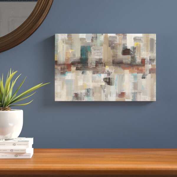 Sidewalks Painting Print on Wrapped Canvas by Langley Street