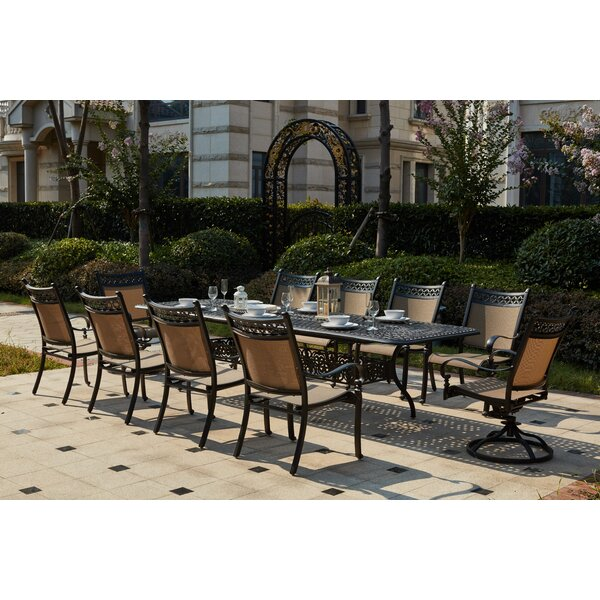 Wabon 11 Piece Dining Set by Darby Home Co