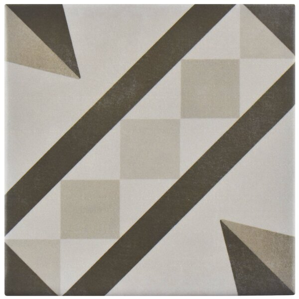 Haute 5.88 x 5.88 Ceramic Field Tile in Gray by EliteTile