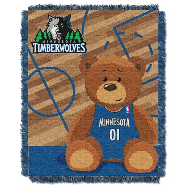 NBA Timberwolves Half Court Baby Throw by Northwest Co.