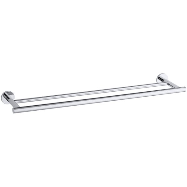 Stillness Double 24 Wall Mounted Towel Bar by Kohler