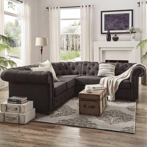 Jeffersonville Symmetrical Sectional by Three Posts