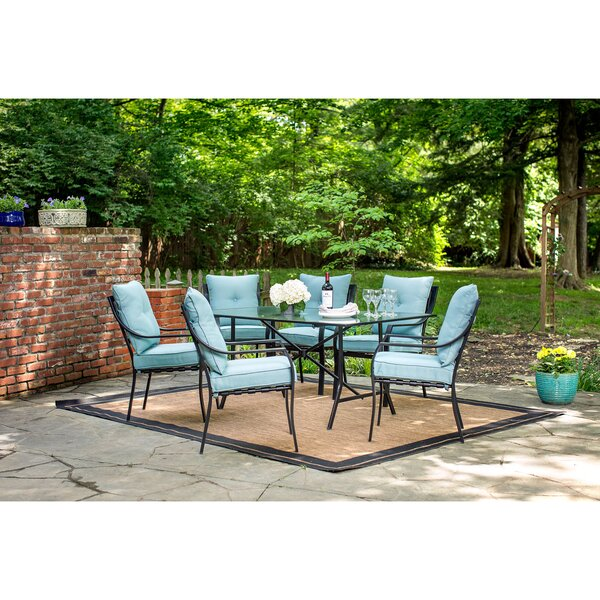 Bozarth 7 Piece Dining Set by Darby Home Co