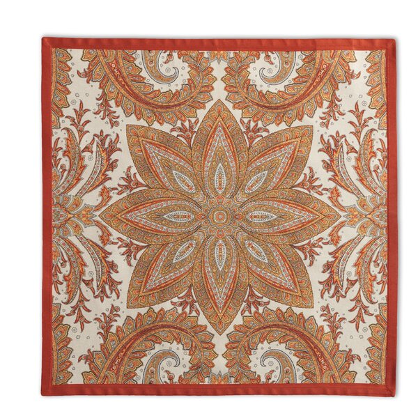 Kashmir Paisley Napkin (Set of 4) by Maison d' Her