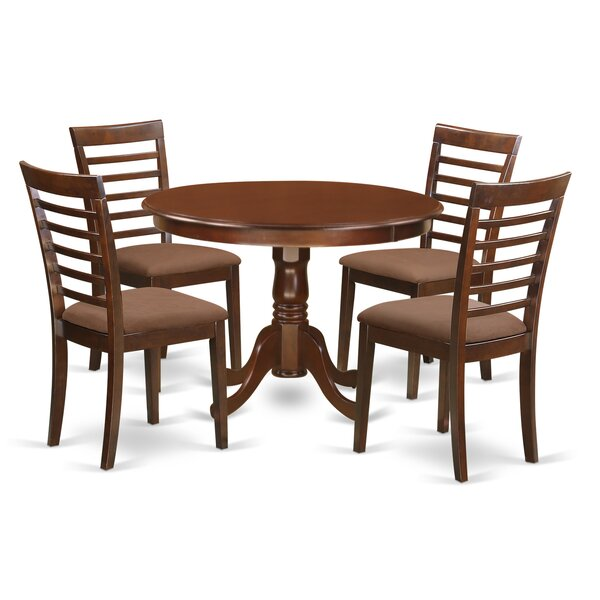 #1 Travis 5 Piece Dining Set By August Grove Spacial Price