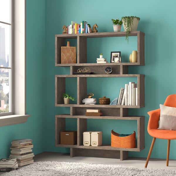 Cullison Geometric Bookcase By Brayden Studio