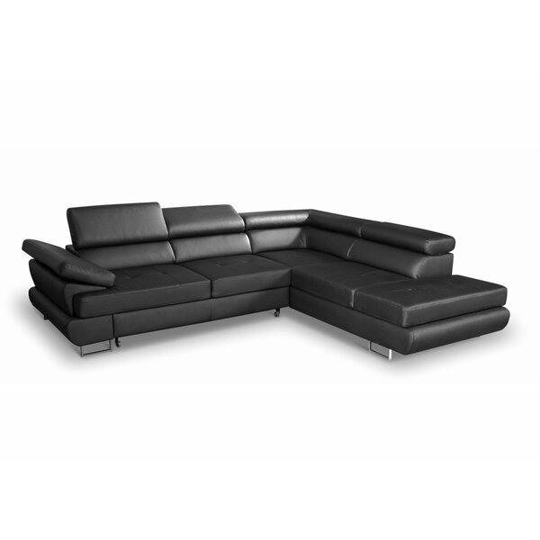 Coleto Right Hand Facing Sleeper Sectional By Orren Ellis