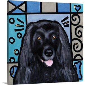 'Newfoundland Pop Art' by Eric Waugh Graphic Art on Canvas by Canvas On Demand