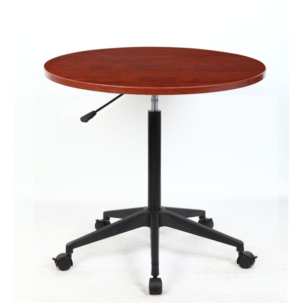 32 Mobile Round Gathering Table by Boss Office Pro