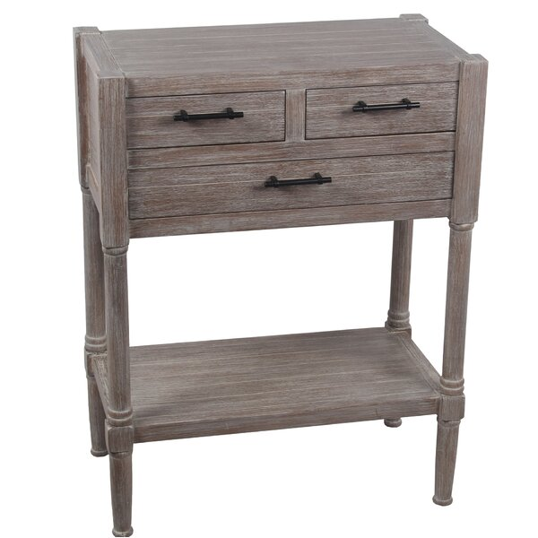 Diawara 3 Drawer End Table by August Grove
