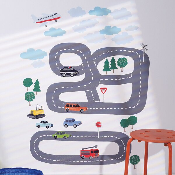 Around Town Interactive Wall Decal by Wallies