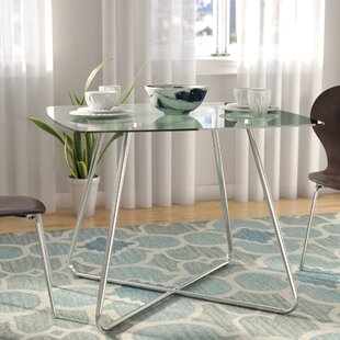 Best Reviews Amber Square Dining Table by Latitude Run