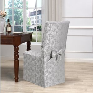 Exceptional Box Cushion Dining Chair Slipcover
