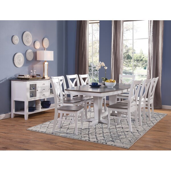 10 Piece Solid Wood Dining Set by Sedgewick Industries